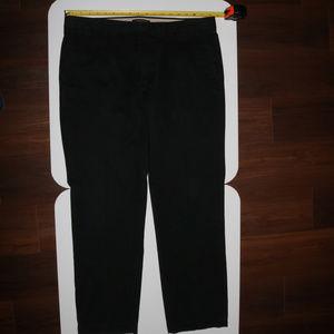 Banana Republic AIDEN Chino Pants Black 36X32